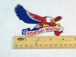 569 N  - AMERICAN WARRIOR EAGLE PATCH