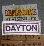 1665 L - Dayton - Reflective - Embroidery Patch