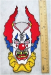 614 N - KILLER CLOWN BACK PATCH - FREE SHIPPING!