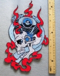 615 N - MOTOR HEAD EXTRA LARGE BACK PATCH