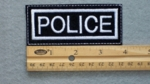 626 L - POLICE PATCH - Embroidery Patch