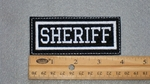 1135 L - SHERIFF PATCH - Embroidery Patch