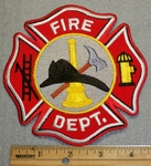 1512 R - Fire Department Logo - Embroidery Patch