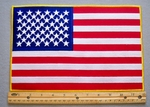 642 S - U.S.A. Flag - Back Patch - Embroidery Patch