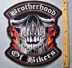 802 G - Brotherhood of Bikers Embroidered Patch