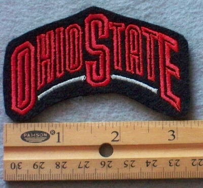 896 L - Ohio State Embroidery Patch