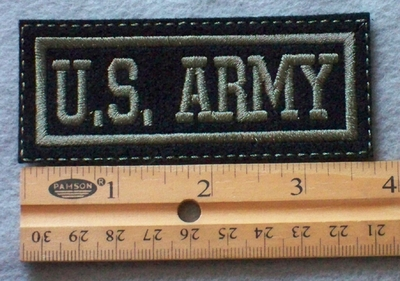 933 L - U.S. Army Embroidered Patch