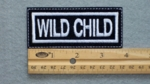 132 L - WILD CHILD - EMBROIDERY PATCH