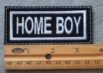 868 L - Home Boy Embroidered Patch