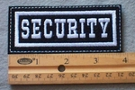 921 L -Security Embroidered Patch