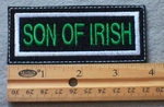 926 L - Son Of Irish Embroidered Patch