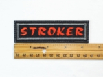 59 L - STROKER - EMBROIDERY PATCH