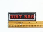 62 L - DIRT BAG - EMBROIDERY PATCH