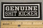 1504 L - Genuine Shit Kicker - Embroidery Patch