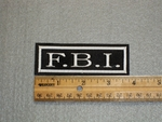 1524 L - F.B.I. - Embroidery Patch