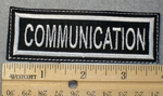 1555 L - Communication - Embroidery Patch