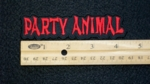 Party Animal - Embroidery Patch