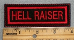 1615 L - Hell Raiser - Red - Embroidery Patch