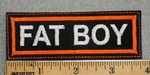 1605 L - Fat Boy- Embroidery Patch