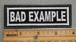 1580 L - Bad Example - Embroidery Patch