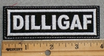 1632 L - Dilligaf - Embroidery Patch