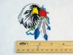 301 N - NATIVE EAGLE - EMBROIDERY PATCH