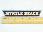 5 B - MYRTLE BEACH - EMBROIDERY PATCH