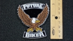 30 G - FUTURE BIKER EAGLE - EMBROIDERY PATCH
