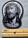 816 G - Pic of Jesus Christ Embroidered Patch