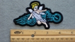 572 G - DISCONTINUED  Biker Angel - Embroidery Patch