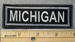 1550 L - Michigan - Embroidery Patch