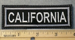 1553 L - California - Embroidery Patch