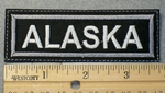 1554 L - Alaska - Embroidery Patch