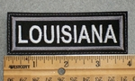 1562 L - Louisiana - Embroidery Patch