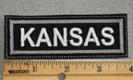 1568 L - Kansas - Embroidery Patch