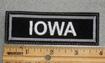 1567 L - Iowa - Embroidery Patch