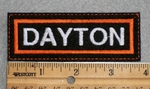 1591 L - Dayton - Embroidery Patch