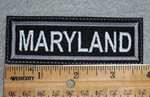 1656 L - Maryland - Embroidery Patch