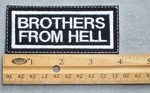 705 L - Brothers From Hell Embroidered Patch