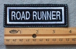 917 L - Road Runner Embroidered Patch