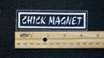 104 L - CHICK MAGNET - EMBROIDERY PATCH
