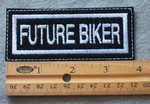 857 L - Future Biker Embroidered Patch