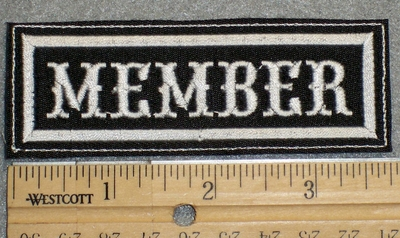 1508 L - Member- Embroidery Patch