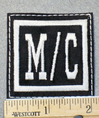 1557 L - M/C - Embroidery Patch