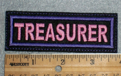 1671 L - Treasurer - Embroidery Patch