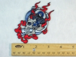 211 N - ENGINE SKULL - EMBROIDERY PATCH