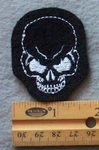 891 L - Skull Embroidered Patch