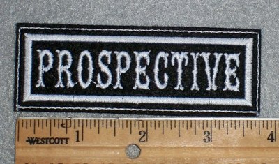 1663 L - Prospective - Embroidery Patch