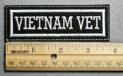 1109 L - VIETNAM VET - Embroidery Patch