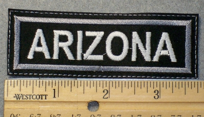 1552 L - Arizona - Embroidery Patch